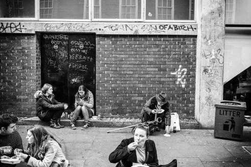 Litter<br />    Takeaway<br /> Off Brick Lane, London