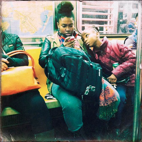 Vying For Attention New York City Subway