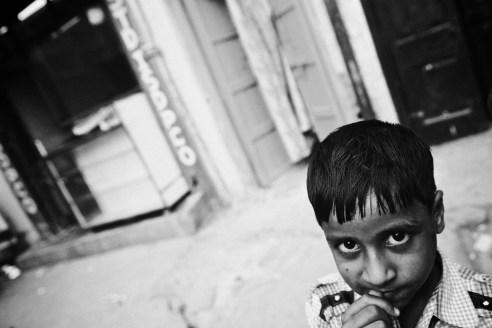 Young boy, Mumbai, India