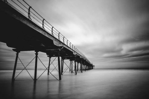 Saltburn Pier By Night SALTBURN By THE SEA County of Teeside
