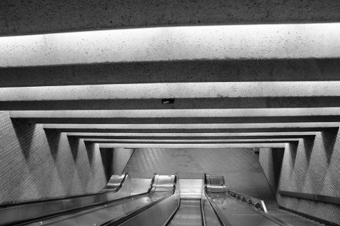 Metro Station in Montreal, Canada