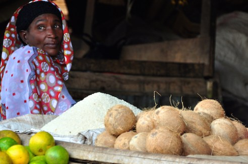 Market of Mto Wa Mbu, Northern Tanzania