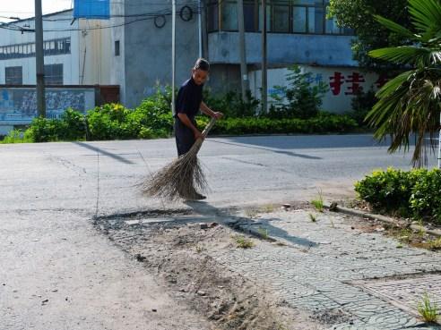 """Sweeping"" Yancheng, China"