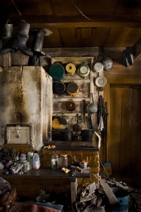 After his wife passed away, Teofil began to surrounding himself with the objects.