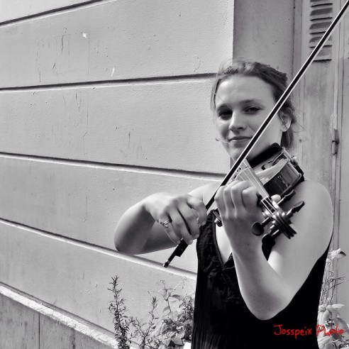 The violonist of Montmartre