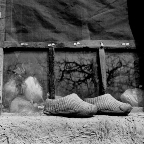 Su Xi Rong's shoes, 75 years old 2008. Shandong Province, China