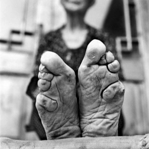 Zhao Hua Hong, 83 years old 2010. Shandong Province, China