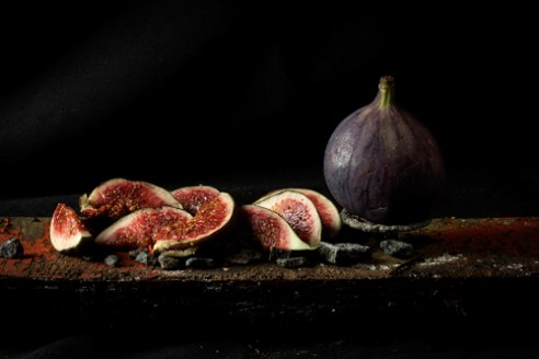 Garnish with a twist figs