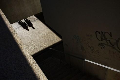 Inicio dun caminho en comun Braga, Portugal