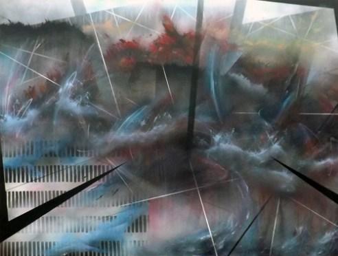 The Black Prince - Oil & Aerosol on Canvas - 2014