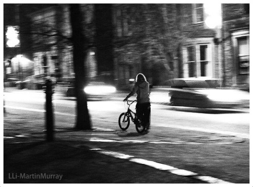 Biker Boy Colne, UK