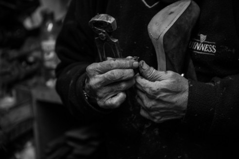 """Craftsman's Hands"" Brixton, London UK"