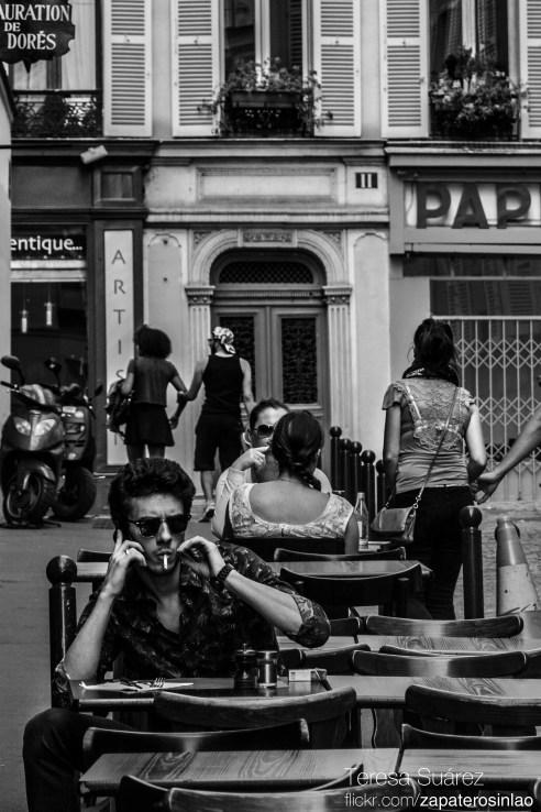 Rue des Martyrs, Montmartre, Paris, France