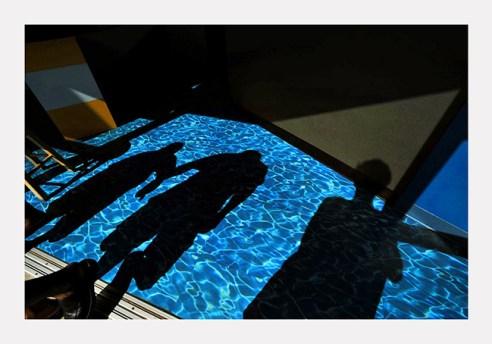 Shadows on pool Virginia Beach, Virginia