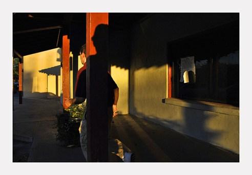 Man & shadow Scottsdale, Arizona