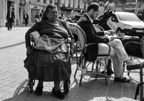 Les Corts Quarter, Barcelona, Spain.