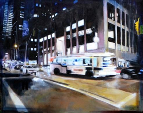 """Crossroads"", acrylic on canvas, 2013"