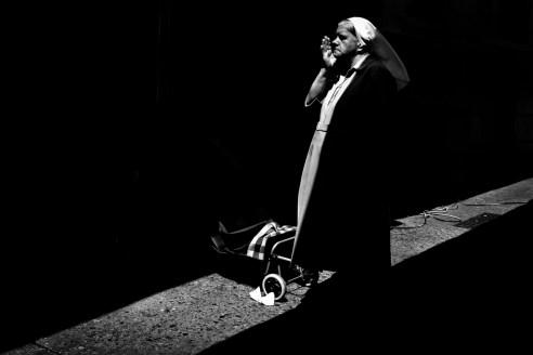 Dark nun Caracas, Venezuela