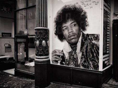 Jimi Hendrix Newcastle, England