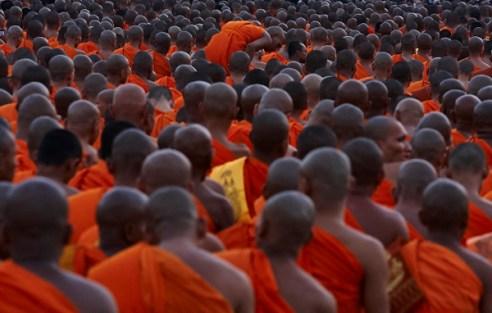 Sea of Monks Cambodia