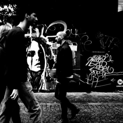 Dirty Lights 001 - Beaubourg, Quartier des Halles, Paris