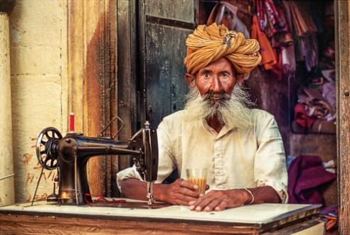 The Tailor Of Jaisalmer, Rajasthan, India