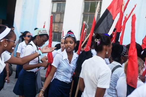University celebrating the Day of the University in Santiago de Cuba .