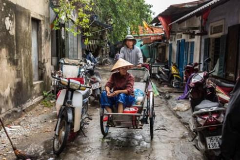 Back alley Hue, Vietnam