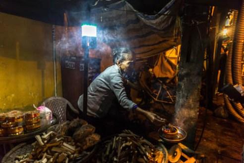 Night market Hoi an, Vietnam