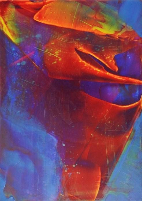 Gravity's Rainbow Muse I Acrylic on Alu Di-bond