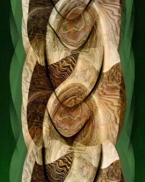An Eternal Braid - Digital Painting