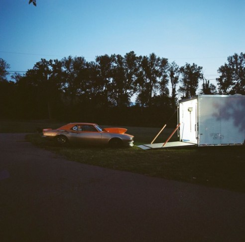 Trailer, Edgewater Motor Sports Park, Cleves, Ohio, 2015