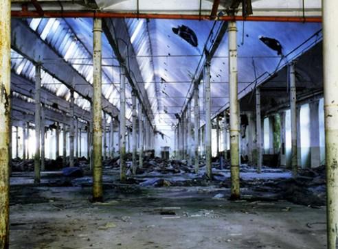 Weave room