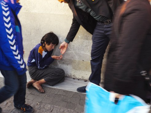 Child beggar Istanbul