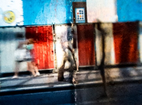 Camera obscura box - Amsterdam, Holland