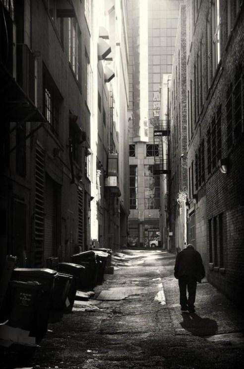 Last Alley Downtown Seattle
