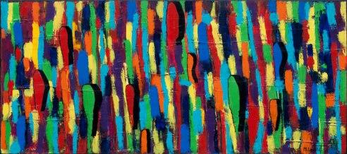 Shadows II Acrylic on canvas