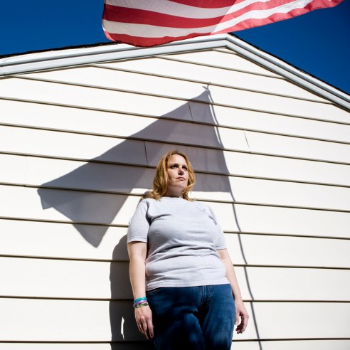 Candice Harrington, 36 years old, New Haven, Connecticut She was deployed in Kuwait for 8 months and in a classified base in Afghanistan for 6 months. Candice has been raped several times and reported the crime to her superior. Was sent home with a honorable discharge in the attempt to cover up the abuse. She's still waiting for the verdict. She wants to go back in the military otherwise, she says, they won.