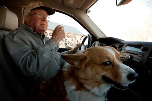 Dad and Batxer Kiowa County