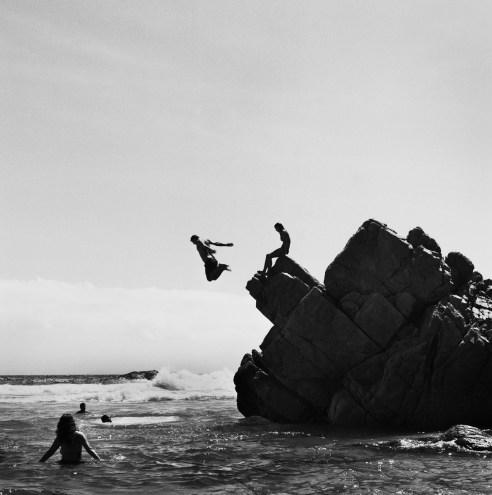 Divers at Kooelbaai, Cape Town, 2013