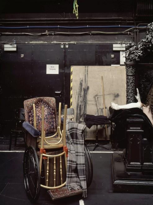 "Neue Flora, Hamburg, 2015 Phantom of the Opera Sidestage ""Waiting Wheelchair"""