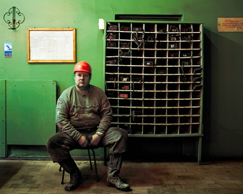 -Between an Eight Hour Shift Mining Coal and Ten Hours of Sleep, Barentsburg, Spitsbergen