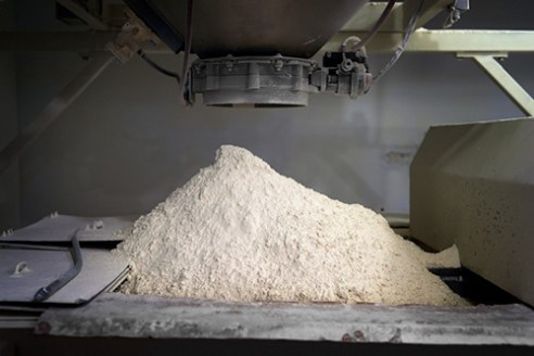 Flour Dumping Station Number One