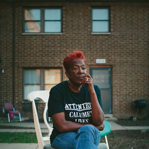"""East Chicago, Indiana Sherry Hunter grew up in the West Calumet Housing Complex and now owns a home in neighboring zone two. The EPA has classified three zones of concern related to the 79-acre superfund site where a USS Lead facility once stood. Now an activist in the Calumet Lives Matter movement, Hunter said she's most concerned for senior citizens who are struggling to find new homes. """"They don't know where to go. They weren't given an option,"""" she said. """"People should have a right to say what they want to do."""""""