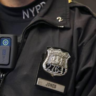 Police body cameras footage publication