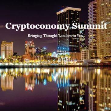 Cryptocurrency, blockchain, cryptoconomy summit, Shane Liddell, crowfunding