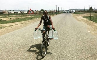 """According to the NGO, some people in the drought stricken areas have resorted to drinking sewage water. Leslie Sedibe, the chief executive of Proudly South African, said: """"Just to give somebody a glass of water… could be the greatest testimony you'll ever give them."""""""