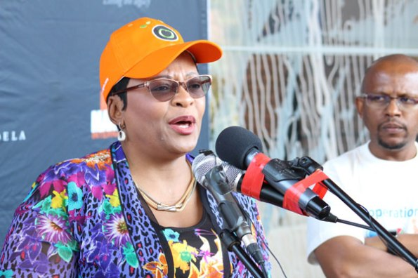 Water Affairs Minister Nomvula Mokonyane announced that the National Lottery would donate R50-million to the cause. On hearing this news, Operation Hydrate raised its target from R67-million to R95-million.