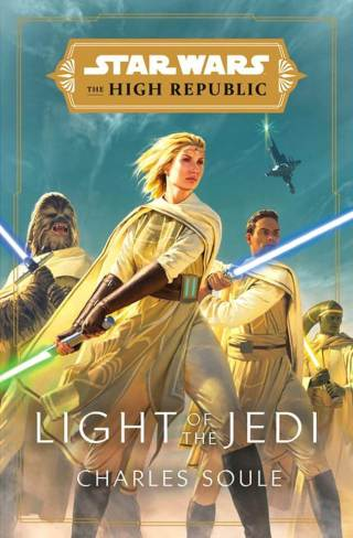 Star Wars: The High Republic: Light of the Jedi book cover