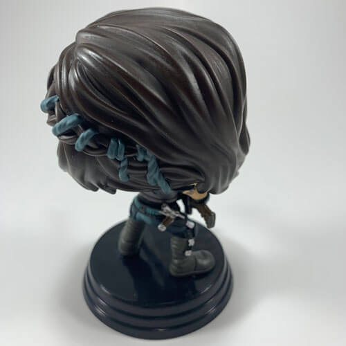 Cara Dune POP FYE Exclusive Edition with Heavy Blaster - Back View